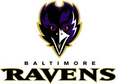 Baltimore Ravens Split Logo Reversible Scarf