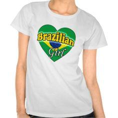 Brazilian Girl T Shirt Brazilian Girls, T Shirts, Girly, Mens Tops, Fashion, Tee Shirts, Women's, Moda, Girly Girl