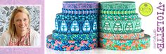 Renaissance Ribbons -Many Designers This set by Designer, Amy Butler