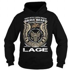 Cool LAGE Last Name, Surname TShirt v1 T-Shirts