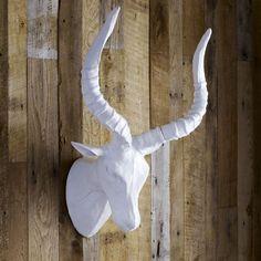 Paper-Mâché Animal Sculpture- Impala by West Elm