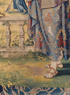 The Story of Vertumnus and Pomona: Vertumnus in the Guise of a Herdsman tapestry