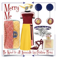 """""""Merry Me"""" by cristine-rosa on Polyvore featuring Marni, Roja Parfums, Shoe Republic LA, Mark Broumand, Chanel, women's clothing, women's fashion, women, female and woman"""