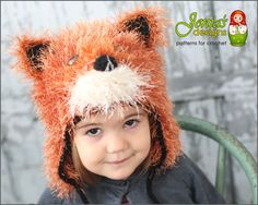 This product is a PDF PATTERN for an absolutely adorable and quite realistic looking Fox hat for anybody who loves these beautiful animals. This pattern offers TWO WAYS TO MAKE THE HAT - extra warm for a cold winter or not so warm for warmer climate or as a costume for Halloween. The hat features a furry cap design with ties, ears, paws and a cute fox face. The pattern sizing accommodates all ages from 6 months old to adult. A great gift idea that is perfect for chilly days, picture time…