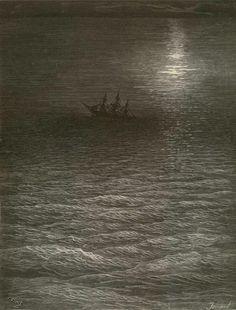 Quadro 19: A Lua em movimento subiu ao céu.