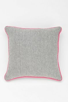 NEST Contrast Trim Chambray Pillow