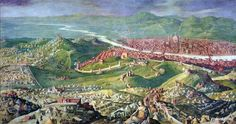 Fresco of the 1530 Siege of Florence