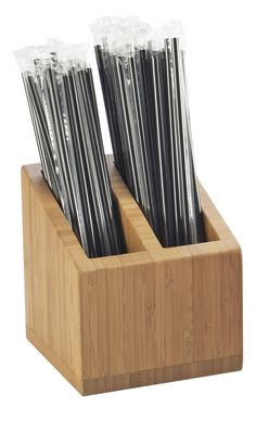 Bamboo Straw Holder Maybe made outta metal