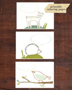 FREE woodland printables