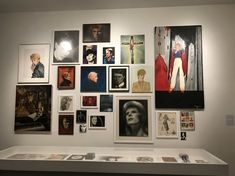 NYボウイ展ちょっと良い話。ボウイが長年集めていたファンによるボウイの絵が展示されてる。 Create Business Cards, Sweet Dreams, Photo Art, Gallery Wall, Layout, Product Design, Frame, Inspire, Inspiration