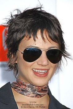 Image result for asia argento short hair
