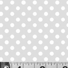 P & B Textiles House Designer - Dotties Sweet Shop - Candy Dots in Gray