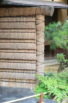 Japanese traditional fence