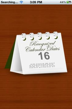 Suave Solutions | Utilities | iPhone | Recognized Dates $0.00 | ver.1.2| $0.99 | Recognized Dates is an informational app that lets you know about the most featured day in a month. All stats and data are US based. The app contains ...