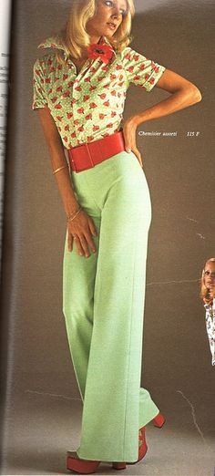 The 1970s-1974 spring fashion by april-mo, via Flickr, I. Would. Rock. This.