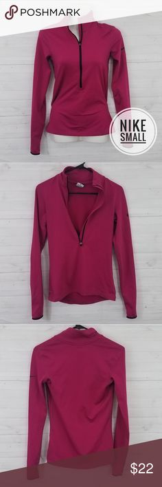 f946c532d8ad9a Small Nike Pink longsleeve athletic top Size Small Brand Nike Pro Dri Fit  Pink longsleeve half