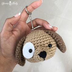 Puppy Keychain or Zipper Pull – Yarns Truly