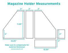 Cardboard Magazine Holders How To Make Custom Magazine Files  Pinterest  Magazine Files
