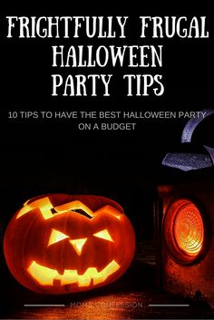 Are you hosting a hauntingly good Halloween party on a budget this year? Take a look at these 10 frightfully frugal Halloween party tips to get you started!
