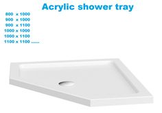 Shower tray: Our wide range of #shower #trays offers everything from rectangular to quadrant options to help choose the perfect one for you. We sell only the highest quality #showertrays at competitive prices.