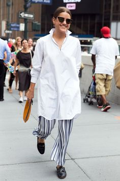 This Universally Flattering Wardrobe Staple Is All Over the Streets at NYFW