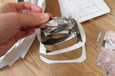 DIY Paper Rose Wreath via With Style and a Little Grace