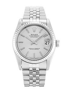 This Rolex has undergone a thorough inspection of water resistance, accuracy, functionality and condition to determine the level of reconditioning required to meet our strict standards. It has also been referenced against technical documents and manufacturer records where available to ensure authenticity and a clean history.This is a pre-owned Rolex Mid-Size Datejust 68274. It has a 31mm Steel