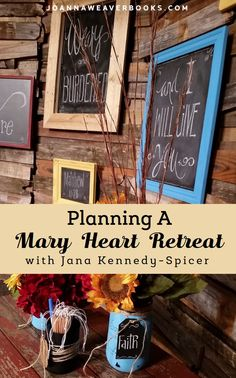 Host your own special event! Directions for turning Joanna Weaver's DVD Study into a Having a Mary Heart in a Martha World Retreat