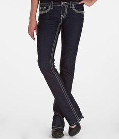 Miss Me Cross & Fleur Straight Stretch Jean
