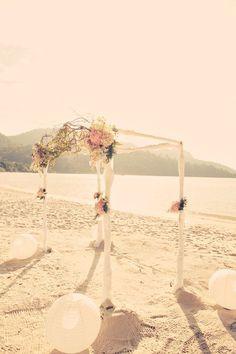 A Vintage Style Wedding Dress for a Beautiful Beachside Malaysian Destination Wedding... - Love My Dress Wedding Blog