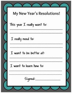 Source by Related posts: Free Printable: Family New Year Resolutions Printable New Year's Resolution Cards The Secret to Keeping New Year's Resolutions [With Free Printable] New Years Resolution : Happy New Year Resolutions New Years Resolution Kids, Family New Years Eve, New Years Activities, New Year Goals, New Year New Me, Happy New Year Everyone, New Year's Crafts, Paper Crafts, Year Resolutions
