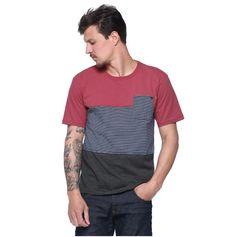 Camiseta Masculina com Bolso - Damyller