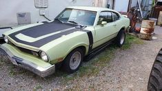 1974 Ford Maverick Two Door 289 Automatic For Sale in Broadway, OH Ford Maverick, Mercury, Broadway, Ads, Doors, Blue, Design Cars, Gate
