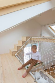 A Summer House Boasts a Parent's Bedroom with Play Area Home Bedroom, Kids Bedroom, Master Bedroom, Childrens Playhouse, Kids Cafe, Casas Containers, Interior And Exterior, Interior Design, Play Houses