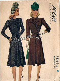McCall 3861: Misses' dress