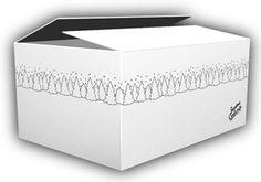 """【楽天市場】デザインダンボール ウィンター Lサイズ段ボール/収納用品/梱包資材/ギフト用05P01Nov14:Village""""Box"""" Carton Box, Shipping Boxes, Food Packaging, Box Design, Packing, Fruit, Tags, Gifts, Box"""