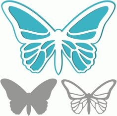 View Design: butterfly cutout