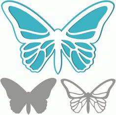 View Design: butterfly cutout