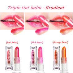 [BERRISOM] My Triple Tint Balm 3.3g, Gradient Red,Pink,Orange[Korea Cosmetics] #BERRISOM