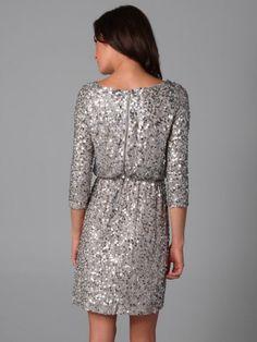 2012 Style A-line Bateau   Paillette 3/4-Length Short / Mini  Cocktail Dress (SZ0243279 )  Also see Alice + Olivia Ritchie dress @ shopbop.com