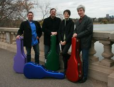 Guitar quartet to perform at St. Andrew's