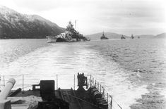 """Operation Zitronella: Tirpitz role at Spitzbergen"""