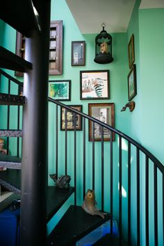 Paint Colors That Match This Apartment Therapy Photo SW 6257 Gibraltar 6452 Inland Home Interior DesignApartment TherapyHouse