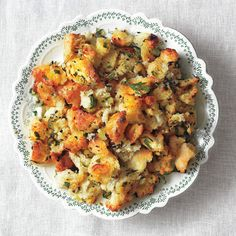 Simple is Best Thanksgiving Stuffing Recipe. Try making with Jimmy John's day old bread
