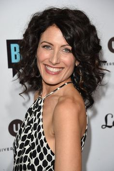"LISA EDELSTEIN is aglow at the ""Girlfriends' Guide To Divorce"" premiere in Hollywood. Hair by BRANT MAYFIELD"