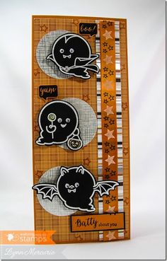 Boo & Friends from Waltzingmouse Stamps