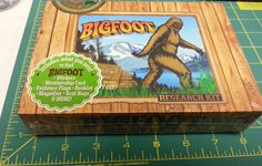 Bigfoot Research Kit - Box filled with Big foot research goodies! New ! Fun item .  If you click on the Visit Site button, it will take you to our eBay store listing for this item.  When you click on the following link, it will take you to our Way Up In Alaska Novelties & Fun Stuff Page:  http://www.wayupinalaska.com/Novelties---Fun-Stuff.html