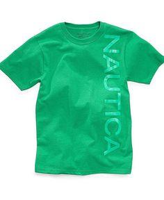 Nautica Kids T-Shirt, Little Boys Logo Tee - Kids Toddler Boys (2T-5T) - Macy's