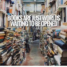 Books are just worlds waiting to be opened  follow us @motivation2study for daily inspiration