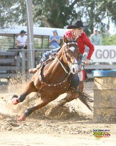 barrel raceing horses videos